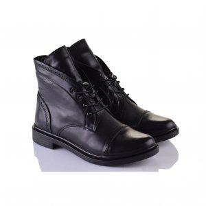 Черные туфли на среднем каблуке  Rylko Код 6282